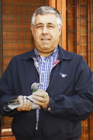 José Luís Jacinto, presidente da Federação Portuguesa de Columbofilia